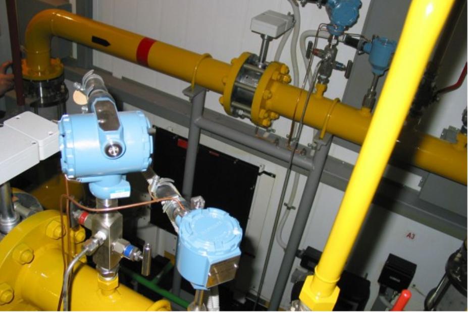 обслуживание узлов учета расхода газа